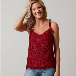 Lucky Brand Cut Out Tank Top